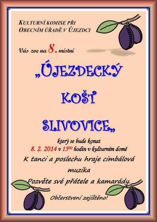 Újezdecký košt slivovice 8.2.2014 - Újezdec